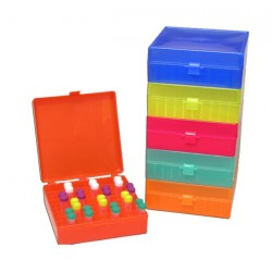 Rack, 4 way (4x50, 12x15, 32x1.5/0.5ml), Rainbow Pack. (R1030)