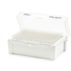 Universal Pipette Tips, Non-Filtered, Low retention, Hinged Rack