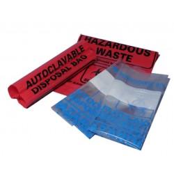 Autoclave bags, clear. (31 x 66cm) (A9000C)